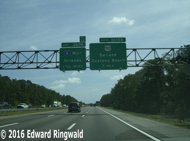 Exit 45b Interstate 4 To Orlando And Daytona Beach
